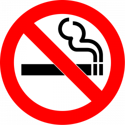 No Smoking clipart public health
