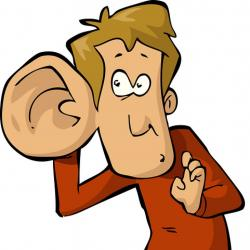Noise clipart big ear