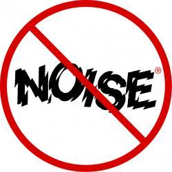 Noise clipart don t