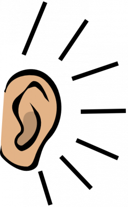 Noise clipart ear listening