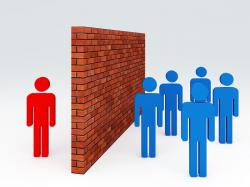 Barrier clipart language barrier