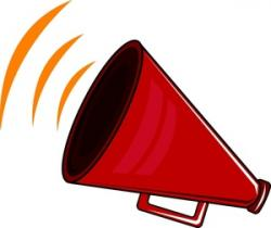 Speakers clipart megaphone