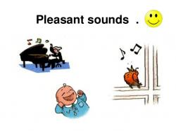 Noise clipart pleasant sounds