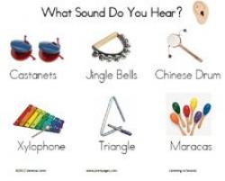 Noise clipart preschool music