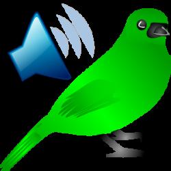 Noise clipart song bird