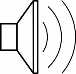 Speakers clipart sound energy
