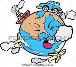 Pollution clipart bus