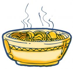 Pasta clipart hot meal