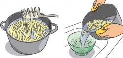 Noodle clipart cooked