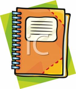 Notebook clipart agenda book