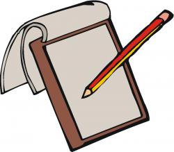 Pen clipart note pad