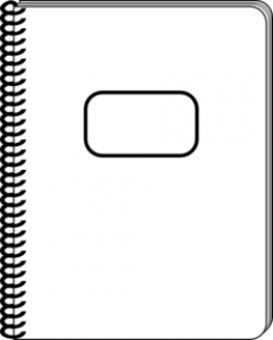 Notebook clipart blank notepad