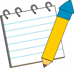 Police clipart notepad