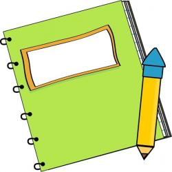 Notebook clipart english