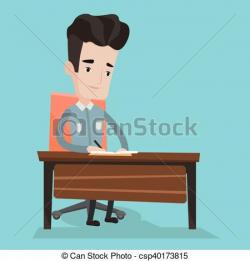 Notebook clipart journalist