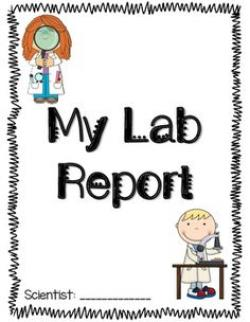 Notebook clipart lab report