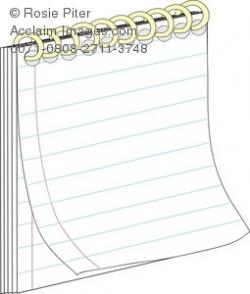 Notebook clipart pad paper