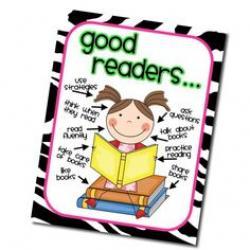Notebook clipart reader
