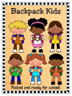 Notebook clipart ready for school
