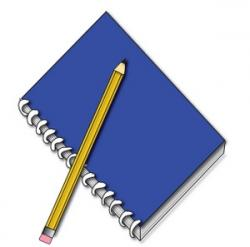 Notebook clipart school supply