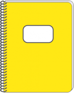 Notebook clipart spiral notebook
