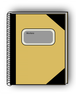 Notebook clipart user manual