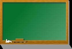 Blackboard clipart cartoon