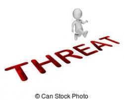 Notice clipart threat