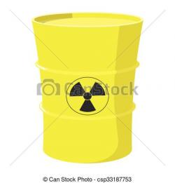 Nuclear clipart barrel