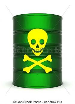 Toxic clipart barrel
