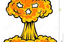 Nuclear Explosion clipart atomic bomb