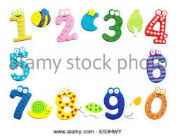 Number clipart boarder