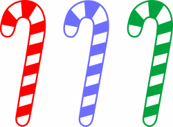 Candy Cane clipart vector
