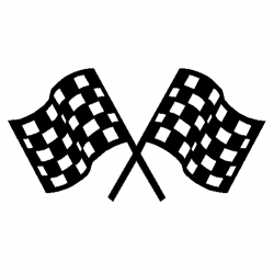Checkerboard clipart race start line