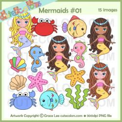 Colouful clipart cute