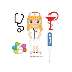 Pulse clipart nursing equipment