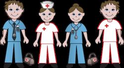 Nurse clipart doctor nurse