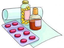Pills clipart medication administration