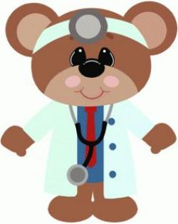 Nurse clipart teddy bear