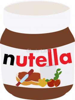 Drawn nutella cartoon
