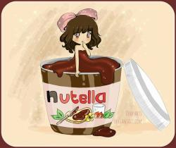 Drawn nutella you are