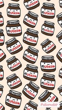 Nutella clipart iphone wallpaper