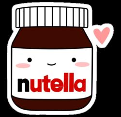 Drawn nutella cute