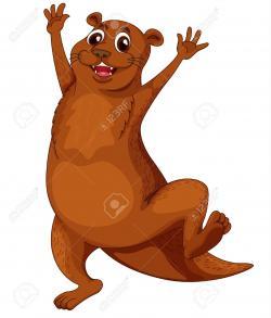 Otter clipart nutria