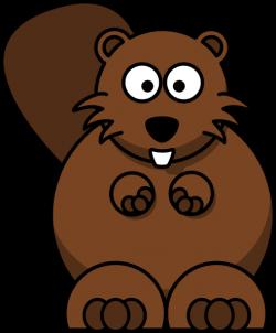 Beaver clipart simple