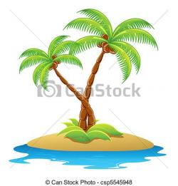 Eiland clipart oasis