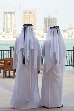Oasis clipart arab man