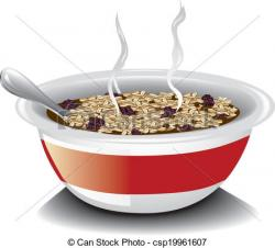 Cereal clipart oatmeal