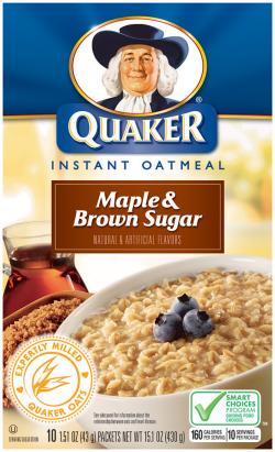 Oatmeal clipart quaker's