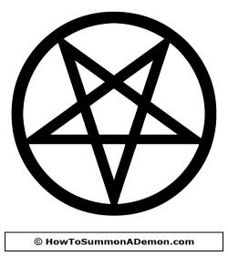 Pentagram clipart occult